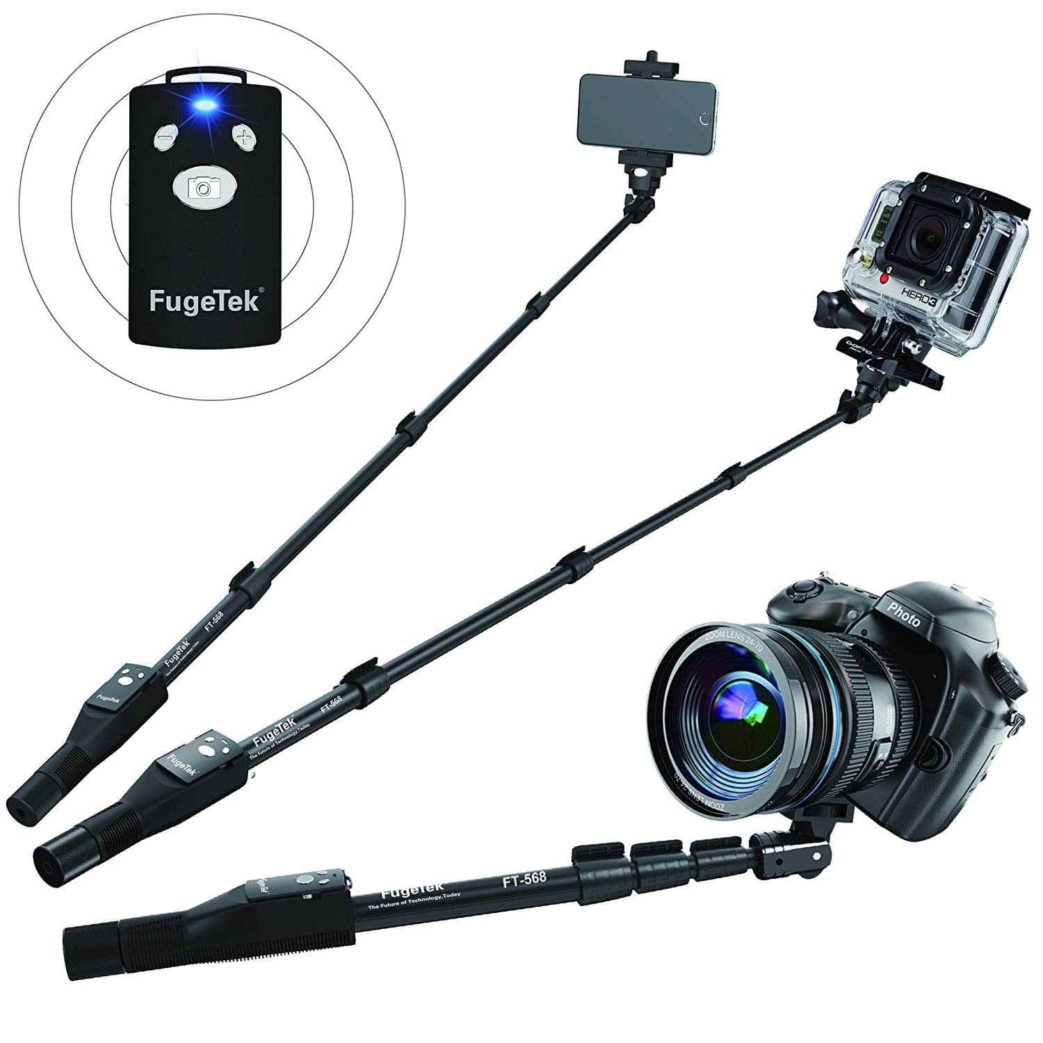 Best Selfie Stick for iPhone and Android on Amazon