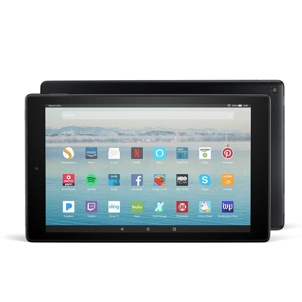 "Fire HD 10 Inch Tablet 10.1"" with 1080p Full HD Display, 32 GB"