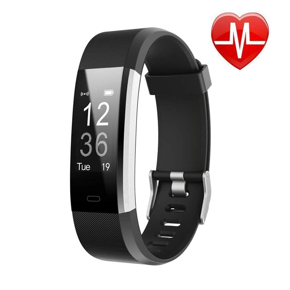 LETSCOM Fitness Tracker HR, Activity Tracker Smart Watch