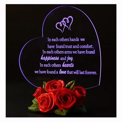 Heart Shaped Led Light - Romantic Gift for Valentine
