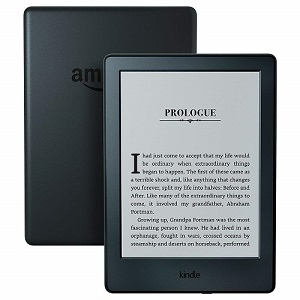 "Kindle E-reader Black, 6"" Paper White Display, Wi-Fi access"