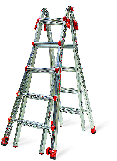 1 Little Giant 22 Foot Velocity Multi Use Step Ladder