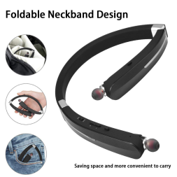 foldable Bluetooth headphone