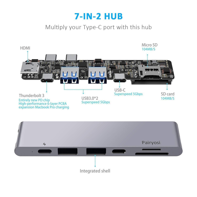 Pairyosi USB C Hub
