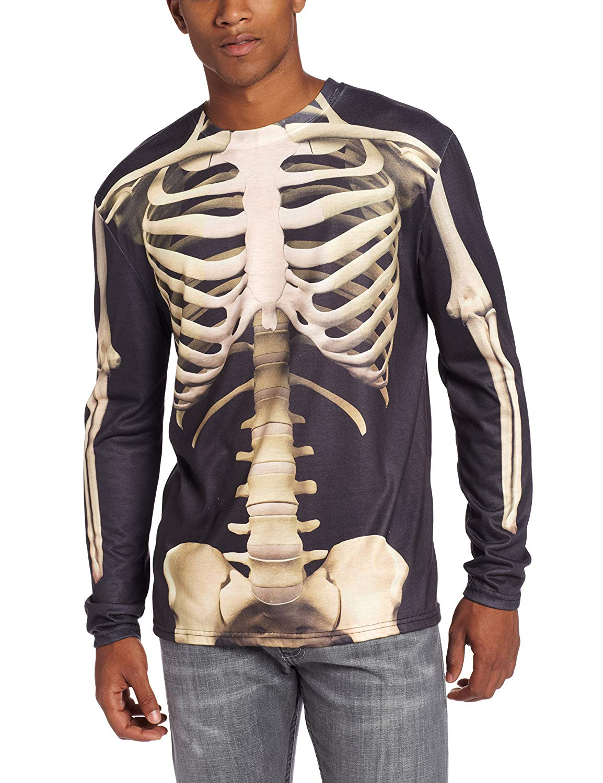 Men's Skeleton Halloween T-Shirt