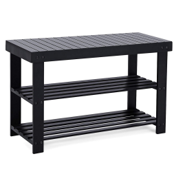 SONGMICS Storage Bench Shoe Rack